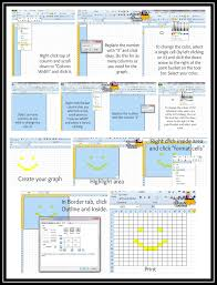 Kitchen Design Graph Paper How To Create A Crochet Graph Using Excel Detailed Instructions