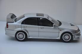 mitsubishi lancer evo 3 initial d akid diecast world 1 18 autoart mitsubishi lancer evolution vi