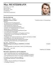 Lebenslauf Vorlage Excel Lebenslauf Vorlage Max Mustermann Anschreiben 2018