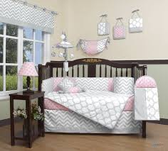 Pink And Gray Crib Bedding Geenny Boutique Baby 13 Crib Bedding Set Salmon Pink Gray