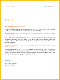 scholarship thank you letter 7 sample templates you should send