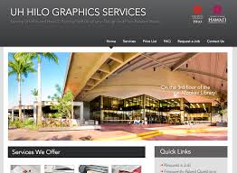 uh hilo graphics services