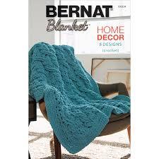 Home Decor Patterns Crochet Patterns Using Bernat Blanket Yarn Manet For