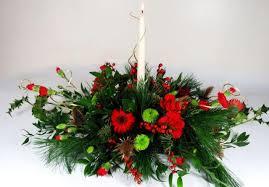 christmas floral arrangements christmas flower arrangements picture