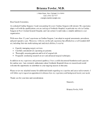 best surgeon cover letter exles livecareer