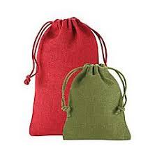 bulk burlap bags fabric gift bags jewelry bags drawstring gift bags in stock uline