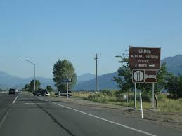 U S Route 395 In by Nevada Aaroads U S Highway 395 Southbound Minden To Topaz Lake