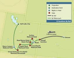 map salt lake city to denver cliffs adventure by rail
