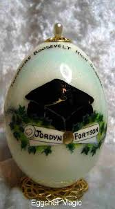 personalized graduation ornament personalized graduation ornaments by eggshell magic