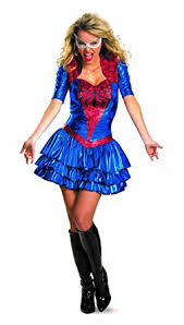 Marvel Female Halloween Costumes Amazon Disguise Marvel Spider Sassy Deluxe Costume Clothing