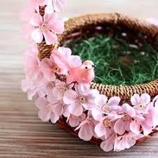 beautiful easter baskets diy beautiful pink easter basket simple to make