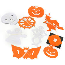 8 styles halloween paper garland home bar pub decorations props