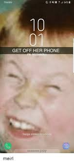 Get Off The Phone Meme - t mobile 10 01 get off her phone fri december1 swipe screen to