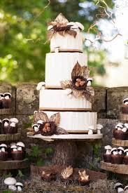 country wedding ideas weddings woodland themed cake woodland country wedding ideas for