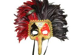 nose venetian mask nose venetian mask with black and feathers