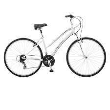 Comfort Bicycle Handlebars Womens White Schwinn Road Comfort Hybrid 700c Bike Bicycle Alum