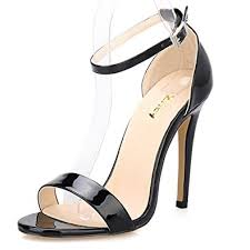 Wedding Shoes Amazon Amazon Com Zriey Women U0027s Ankle Strap Dress High Heel Sandals