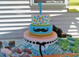mustache birthday cake mustache bash birthday party free printables