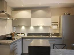 cuisine chaleureuse contemporaine cuisine contemporaine blanc et grise cuisine chaleureuse
