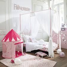 baldacchino lettino letto a baldacchino rosa in metallo per bambini 90x190 maisons