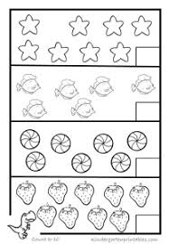 counting worksheets for kindergarten 1 20 number coloring pages