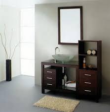 Espresso Vanity Bathroom Innovative Single Sink Bathroom Vanity And Beautiful Single Bath