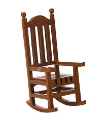 timeless miniatures wood rocking chair