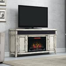 Rustic Corner Electric Fireplace Entertainment Center Mantels
