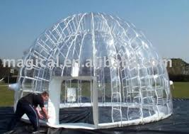 Transparent Tent Inflatable Transparent Dome Pvc Igloo Inflatable Clear Tent View