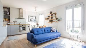 comment decorer une cuisine ouverte ide amnagement appartement 30m2 great studio c amnagement duun