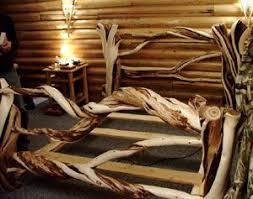 71 best log beds images on pinterest rustic log furniture