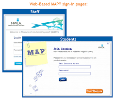 map login which map version am i nwea