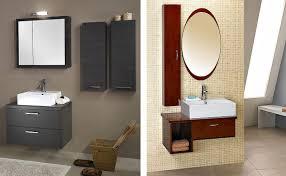 Wooden Vanity Lavatory Cabinet Design White Wall Mounted Towel Racks White Fibre