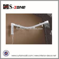 double open electric drapery rail automatic ceiling curtain track