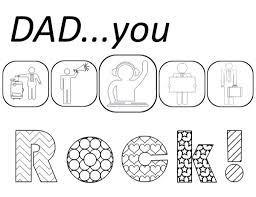 printable birthday coloring pages for dad winclab info