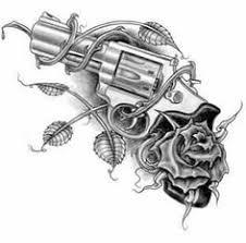 gun and roses ideas guns and