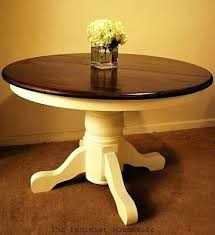stained table top painted legs painted table designer painted furniture amazing sticks accent half