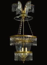 Neoclassical Chandeliers A German Neoclassical Cut Glass Mounted Ormolu Twelve Light