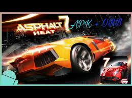 asphalt 7 mod apk تنزيل لعبة asphalt 7 v1 1 2h apk mod obb للاندرويد مهكرة