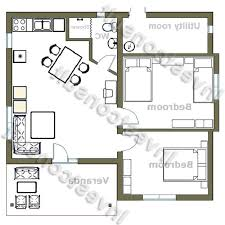 2 bedroom house floor plans free low budget modern 2 bedroom house design floor plan nrtradiant com