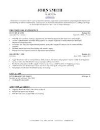 Manager Resume Template Microsoft Word Free Resume Templates General Template Rig Manager Sample