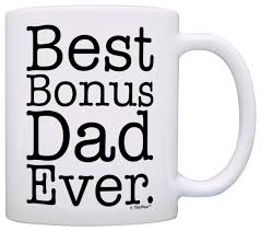 amazon com father u0027s day gift for stepdad best bonus dad ever