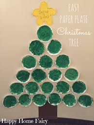 christmas tree craft with paper plates paper plate christmas tree