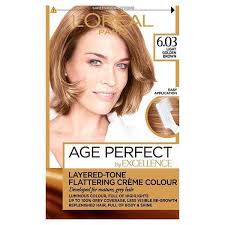 light golden brown hair color excellence age perfect 6 03 light golden brown hair dye superdrug