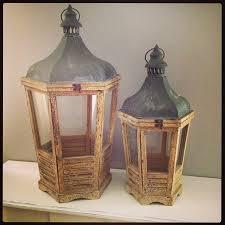 vintage lanterns wood pretty vintage lanterns for wonderful
