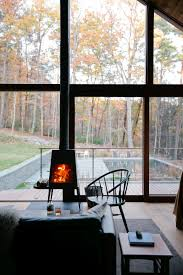 bedroom hudson woods sustainable modern cabins offer an escape