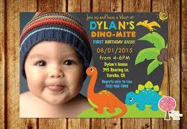dinosaur birthday party invitation chalkboard invitation 1st