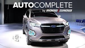 subaru viziv 7 autocomplete subaru previews the viziv 7 concept its three row suv