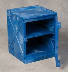 Quik Bench Eagle 4 Gallon Modular Quik Assembly Bench Top Cabinet Blue