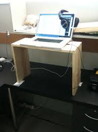 diy standing desk converter diy adjustable standing desk converter home design ideas